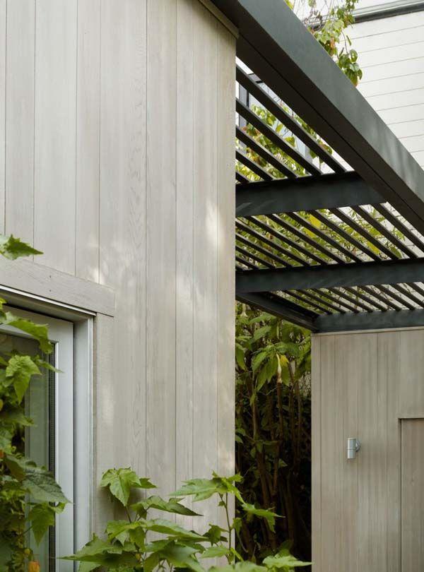 Pergola, Potrero House, Cary Bernstein Architect