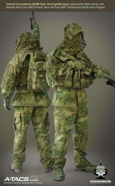 A-TACS Super Cool Survival Suit | Prepping | Sniper gear