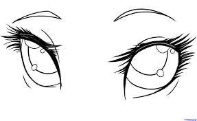 Image Result For How To Draw Angled Anime Eyes How To Draw Anime Eyes Anime Drawings Anime Eyes