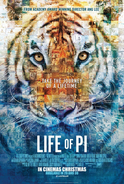 Life Of Pi Poster La Vida De Pi Peliculas De Drama Carteles De Cine
