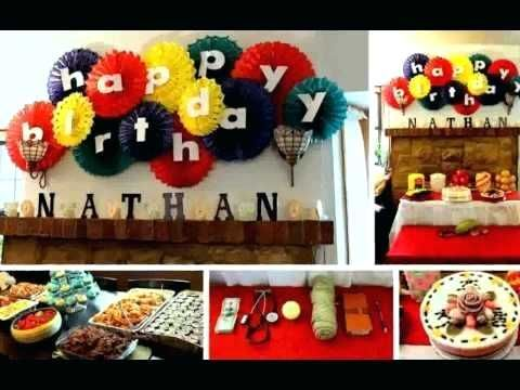Decoration Ideas For Birthday Party At Home For Husband Combined