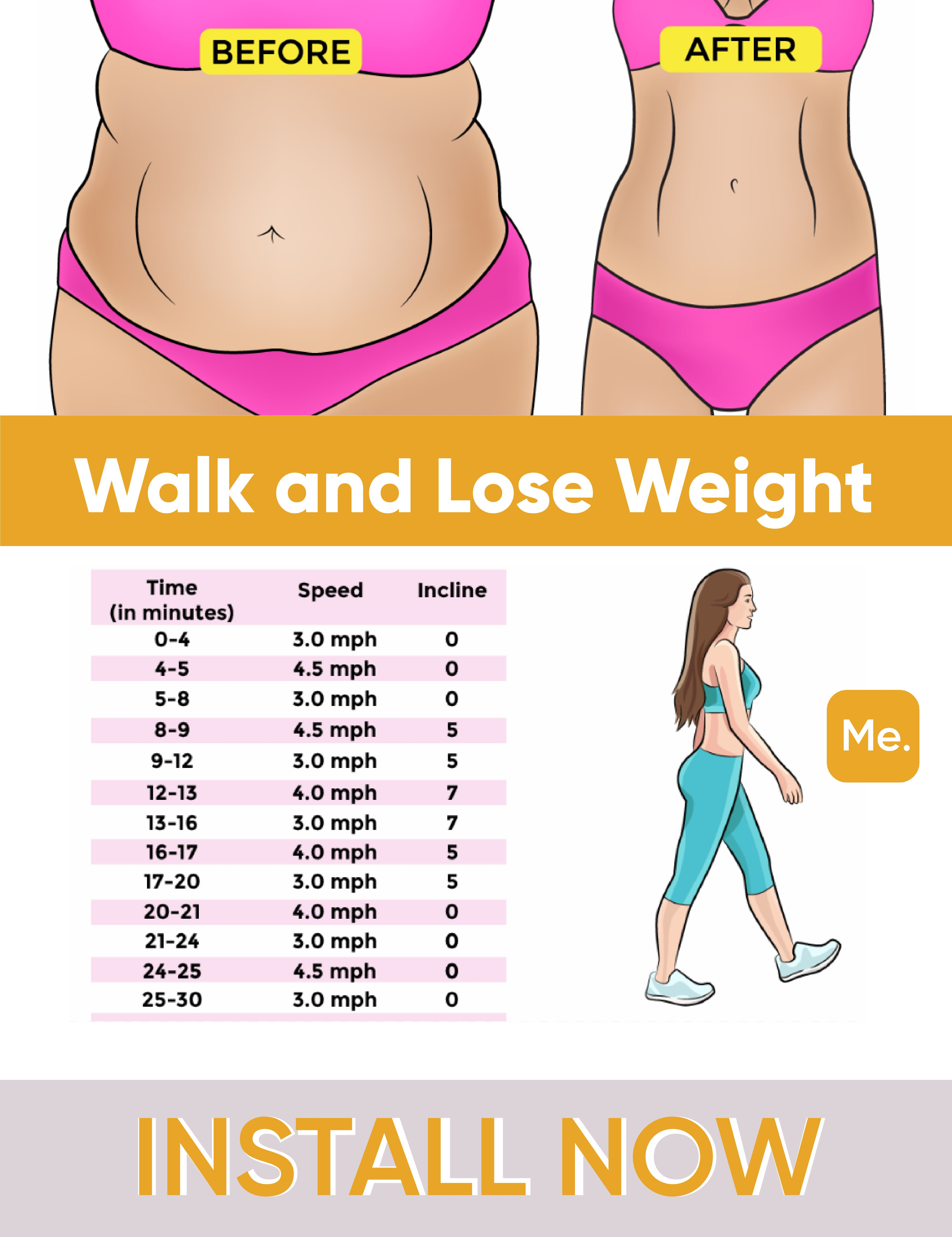 is walking effective to lose weight
