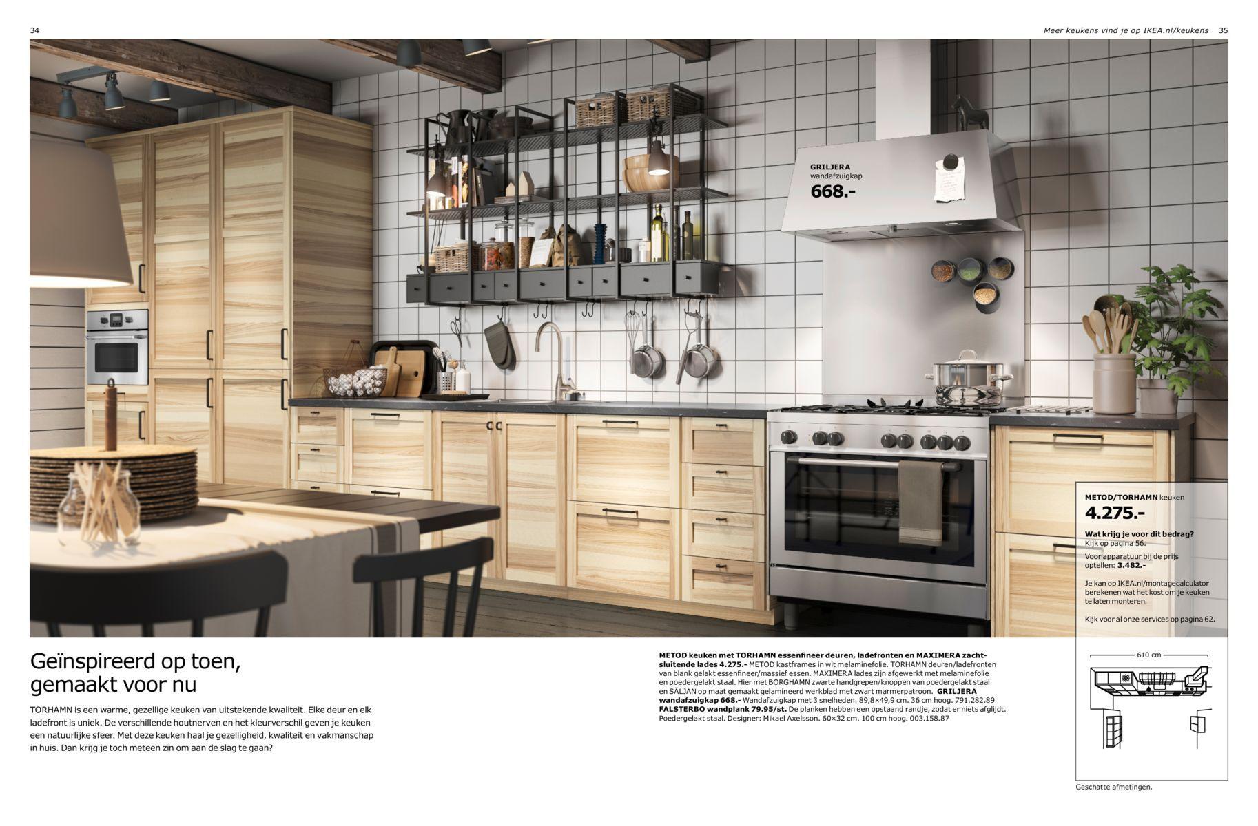 Iets Nieuws Ikea Keuken Afmetingen – Informatie Over de Keuken @JY27