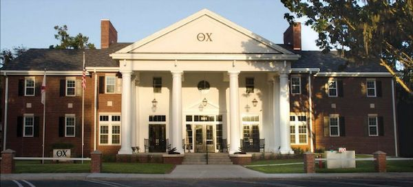 The 20 Most Impressive Fraternity Houses In The South Photos Fraternity House House Theta Chi