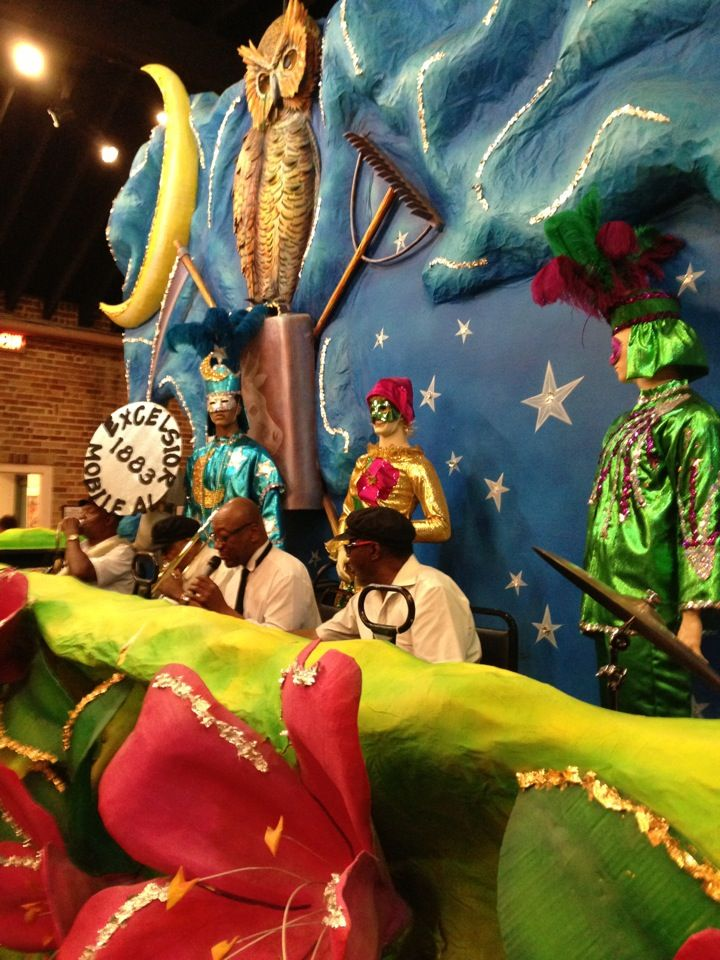 Mobile has a nice Mardi Gras Museum that doubles as a mystery dinner theater.