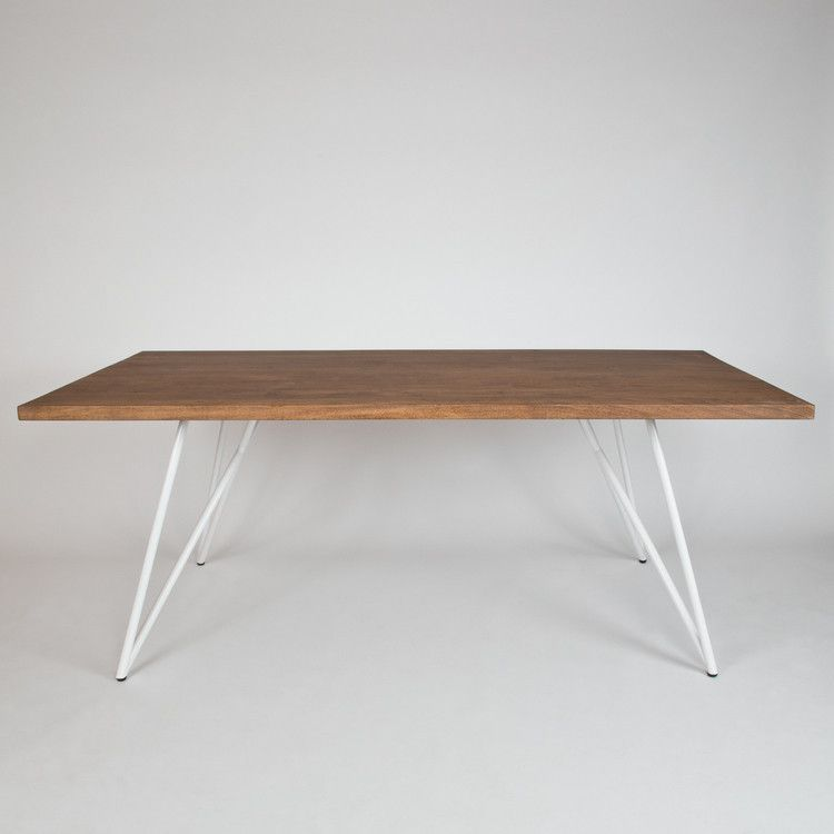 DINING TABLE FUSION with white base