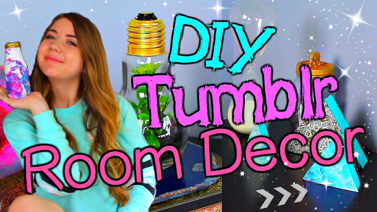 diy tumblr inspired room decor make your room look tumblr cute