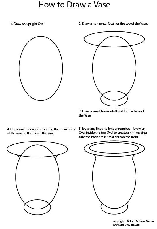 Drawing Kitchenware Step By Step Draw Easy