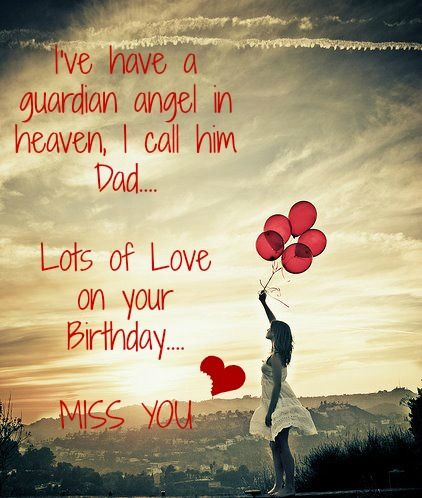 happy birthday dad in heaven quotes from daughter