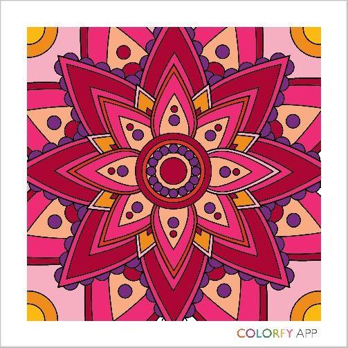 Mandala - colorfy