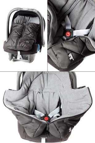 4ME mini fodvarmer (kørepose til autostol)