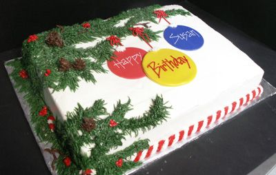 Christmas Birthday Cake.Pin On Christmas