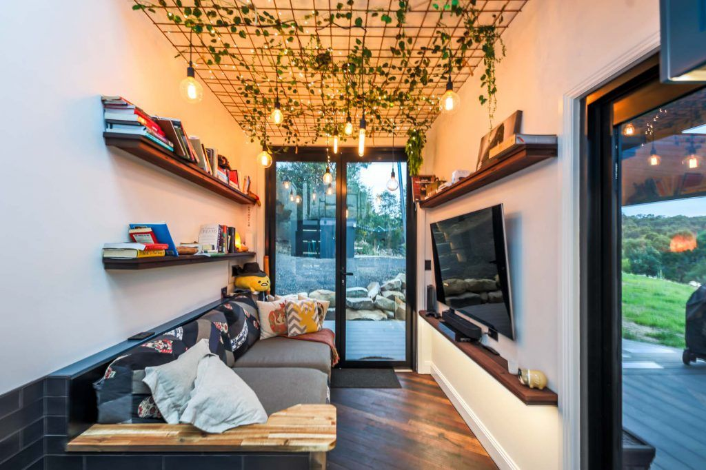 This Ultra Modern Tiny House Will Blow Your Mind Living Big In A Tiny House Modern Tiny House Tiny House Decor Tiny House Living