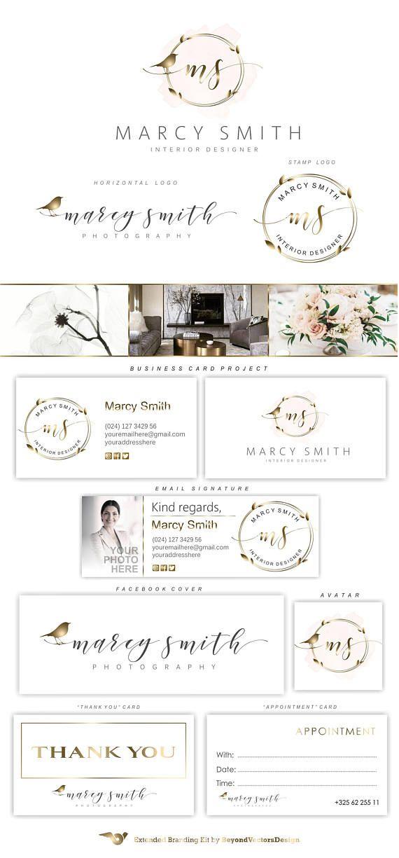 Gold nest logo interior designer wedding planner also rh pinterest