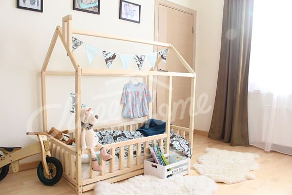 kleinkind bett twin size babybett kinderbett montessori konrad pinterest. Black Bedroom Furniture Sets. Home Design Ideas