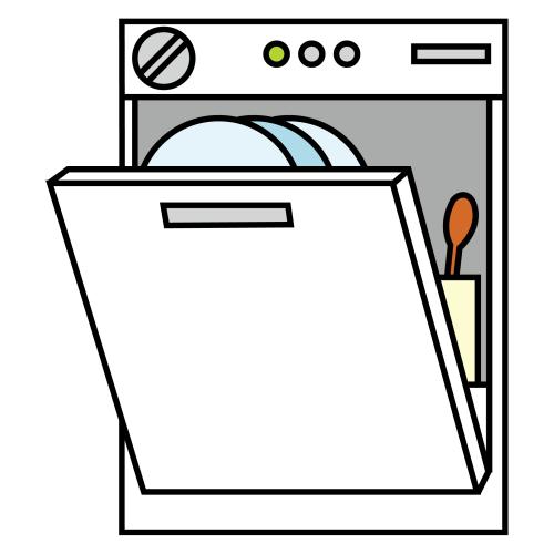 lavavajillas Clip art, Routine cards, School clipart