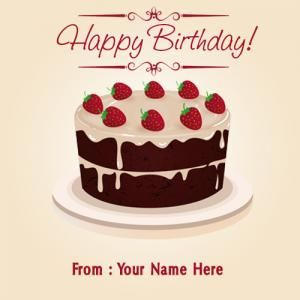 strawberry with chocolate beautiful decorate birthday cake image on yummy birthday cakes free download with name