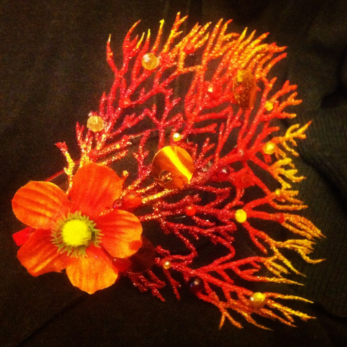 Sunfire coral crown
