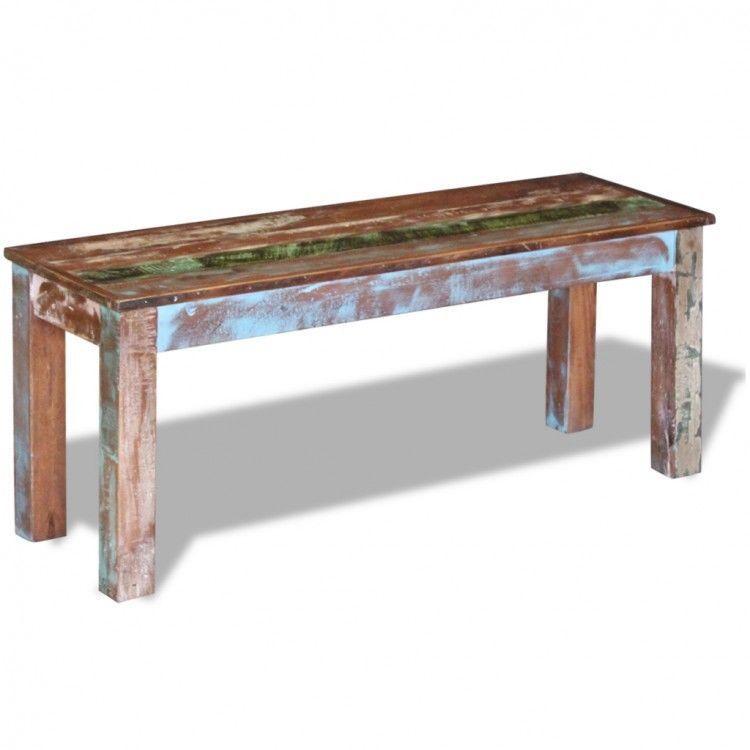 Wooden Bench Handmade Solid Wood Furniture Indoor Seater Hallway
