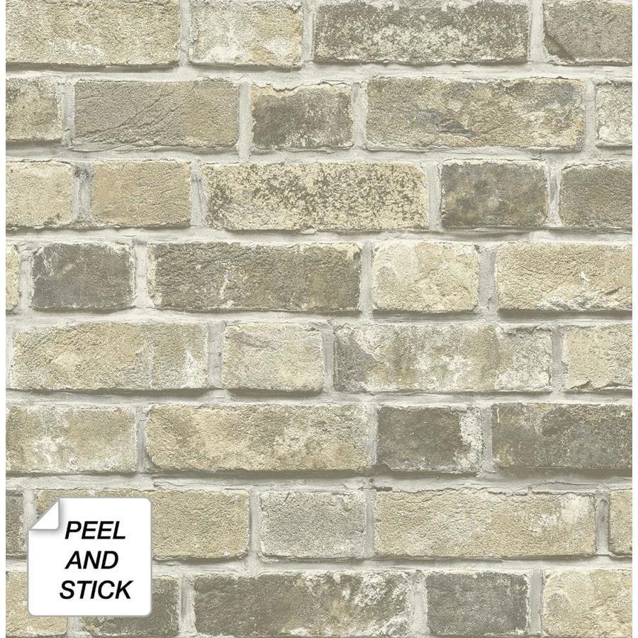 Transform Transform Red Brick Peel And Stick Wallpaper Lowes Com Fake Brick Wall Red Brick Wallpaper Faux Brick Wallpaper
