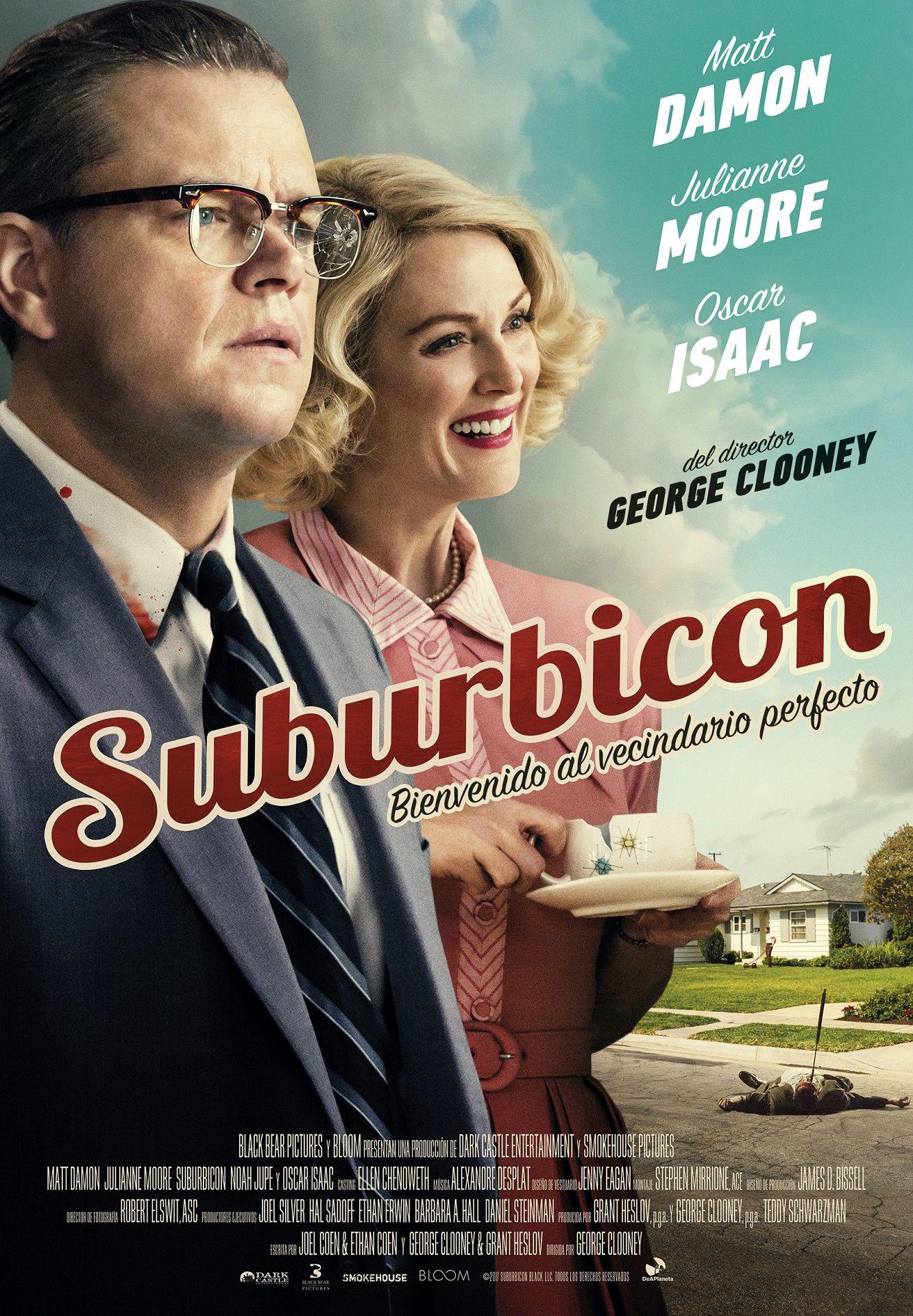 Una Película Dirigida Por George Clooney Suburbicon En El Caluroso Verano De 1959 La Hasta Entonces Pacífica Comunidad Peliculas Matt Damon Noticias De Cine
