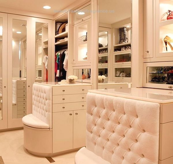 Ultra Modern Closet Design With Mirror Door Decoist 7 Essentials To Luxury Closets