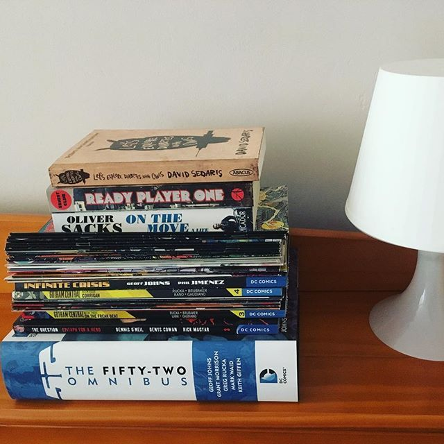 Reposting Rasmenia I Like To Keep A Book Or Two On The Bedside Ihaveaproblem Bookworm Books Bedsidereads Nonfiction Fictio Book Worms Books Mark Waid