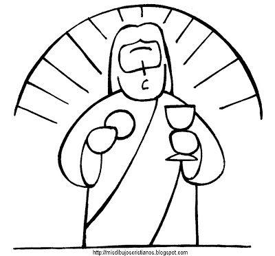 Pan Y Vino Bread And Wine Dibujos Paginas Para Colorear De Biblia Paginas Para Colorear