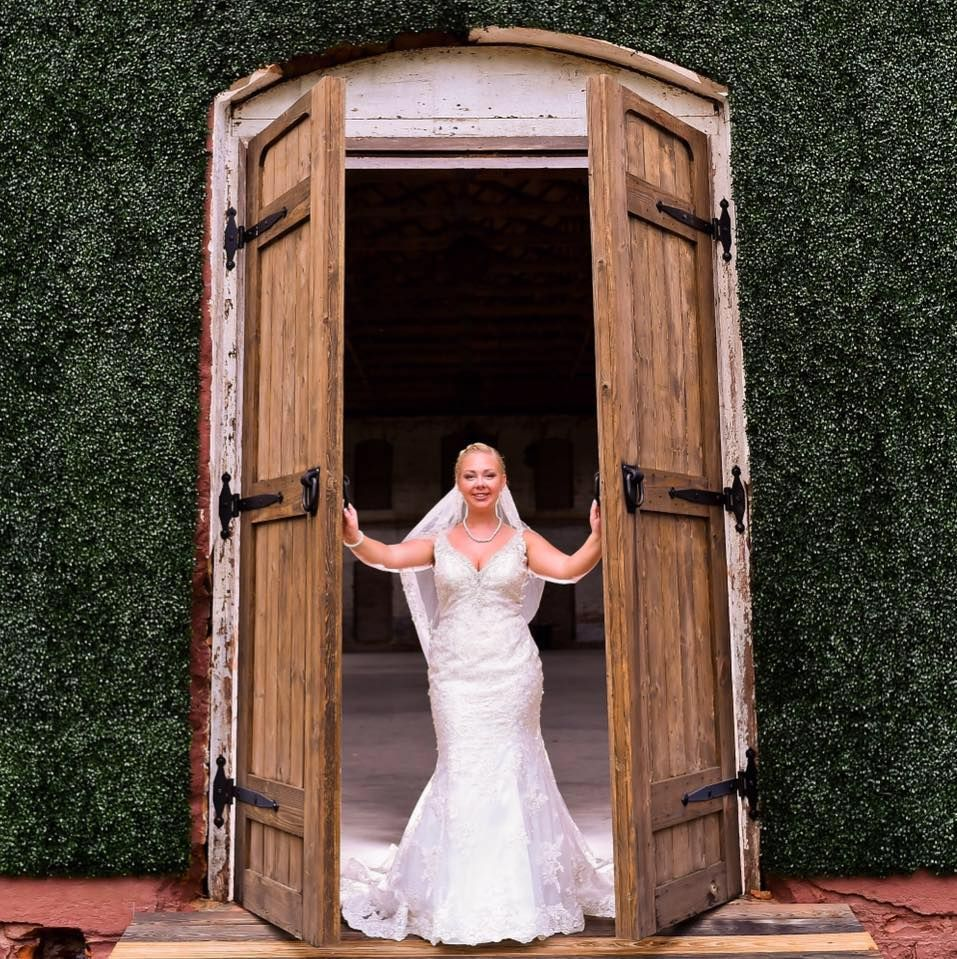 Simpson's Real Bride, Mrs. Kassi Brinson, Wearing Allure