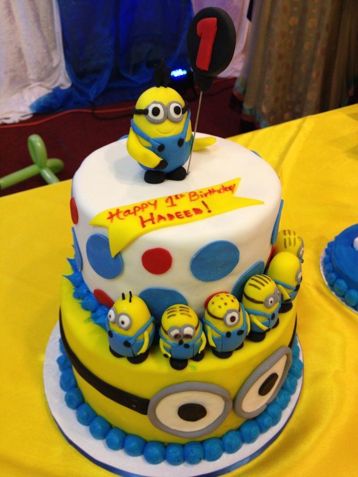 Super Minion Birthday Cake My Cousins Minion Birthday Cake With Funny Birthday Cards Online Alyptdamsfinfo