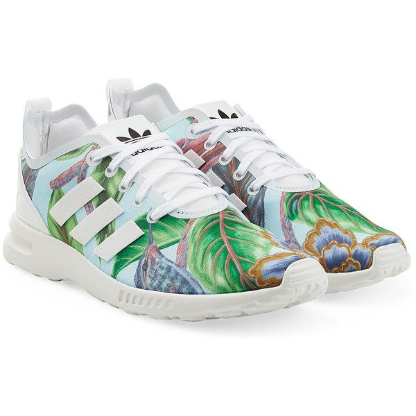 Adidas Originals Printed Sneakers (€88) ❤ liked on Polyvore featuring shoes, sneakers, adidas, multicolor, multi color shoes, multi color sneakers, lacing sneakers, multicolor sneakers and lace up sneakers