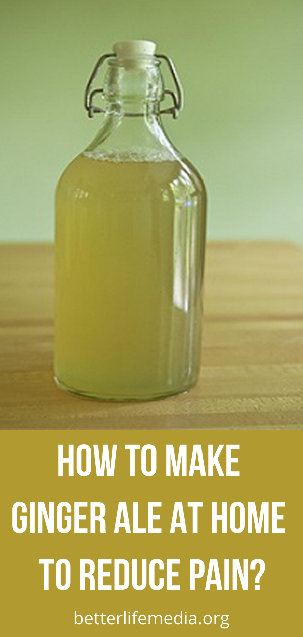 How To Make Ginger Ale At Home To Reduce Pain? - Better Life Media