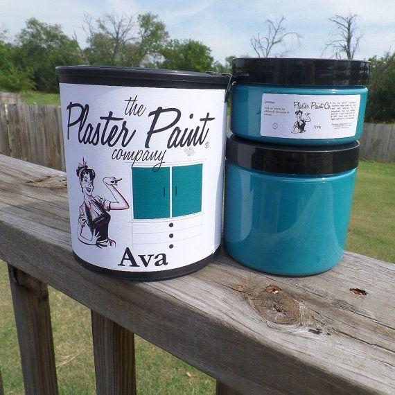 Plaster Paint 8 oz, DIY Painting, DIY Crafts, Craft Paint, Furniture Paint, Wood Paint, Metal Paint, Ecofriendly Paint