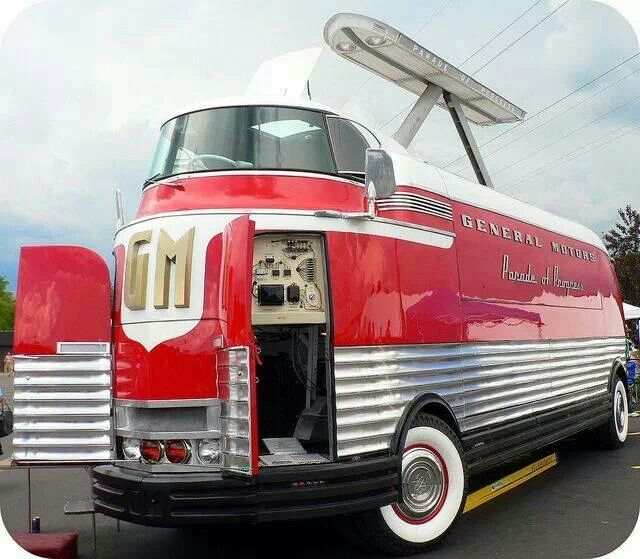 Gm Futurliner | Crazy Vehicles | Pinterest | Cars, Vehicle ...