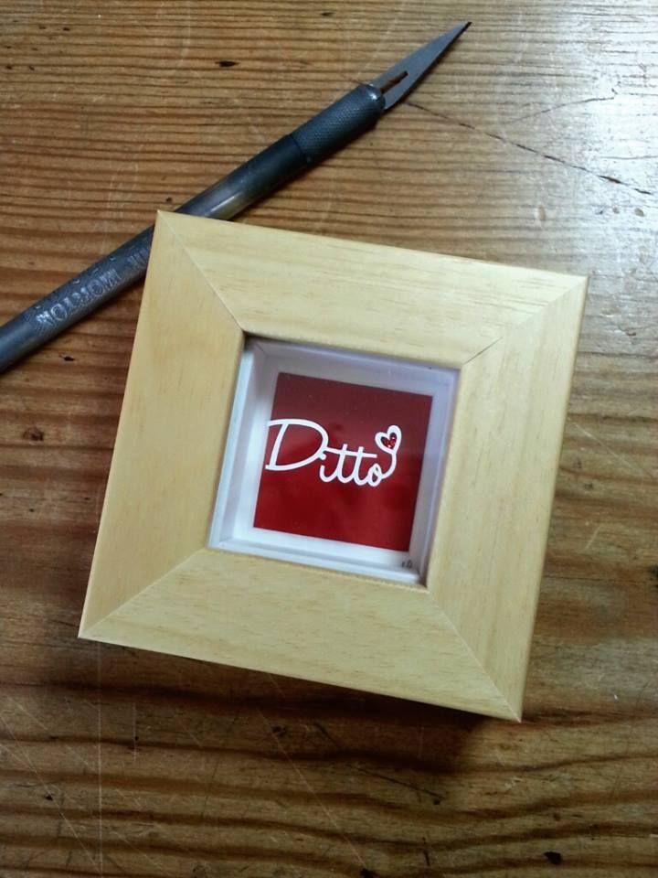 'Ditto' - Original Papercut