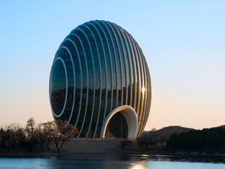 Want to spend a night in china s latest architectural for Best architects today