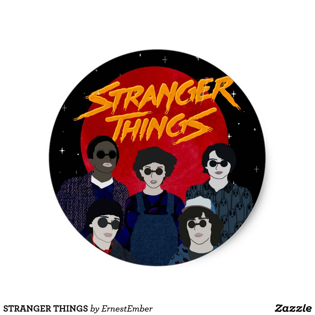 Stranger things special stranger things cool stickers