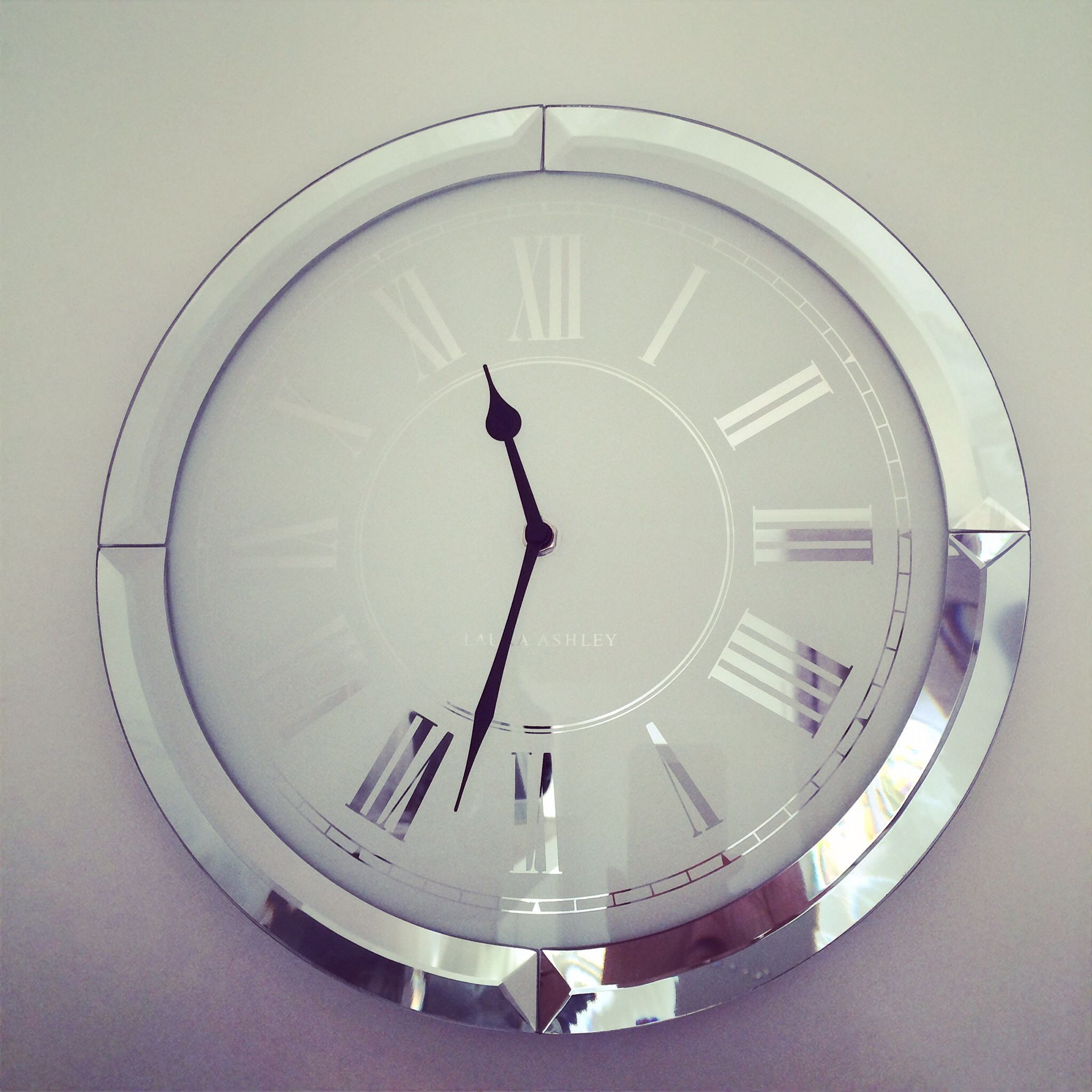 Laura ashley mirrored clock objets pinterest laura ashley laura ashley mirrored clock amipublicfo Image collections