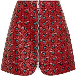 Isabel Marant Heina Printed Mini Skirt  7efc7c3b8517