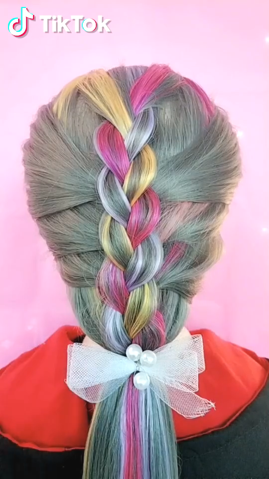 Hairstyles For Thick Hair - The Braided Ponytail #hairupdos : Hairstyles For Thick Hair - The Braided Ponytail #hairupdos #Hairstyles #Thick #Hair # Braids afro ponytail # Braids afro ponytail