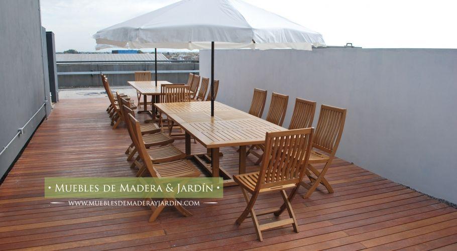 Sombrillas para terrazas muebles de jardin pinterest for Reposeras para terrazas