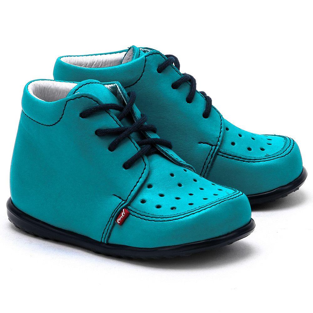 Emel Roczki Turkusowe Skorzane Polbuty Dzieciece E 918 9 E 918 9 Buty Dzieci Trzewiki I Polbuty Kids Fashion Sneakers Shoes