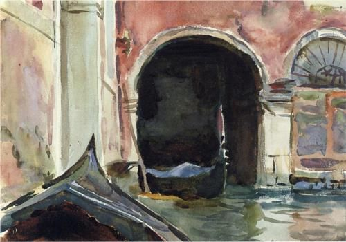 Venetian Canal  - John Singer Sargent