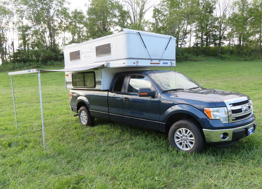 Grandby Pop Up 8 0 Long Bed Four Wheel Campers Low Profile