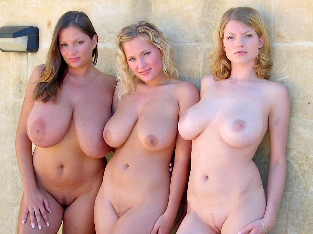 Groups of female nudist with big boobs bitch