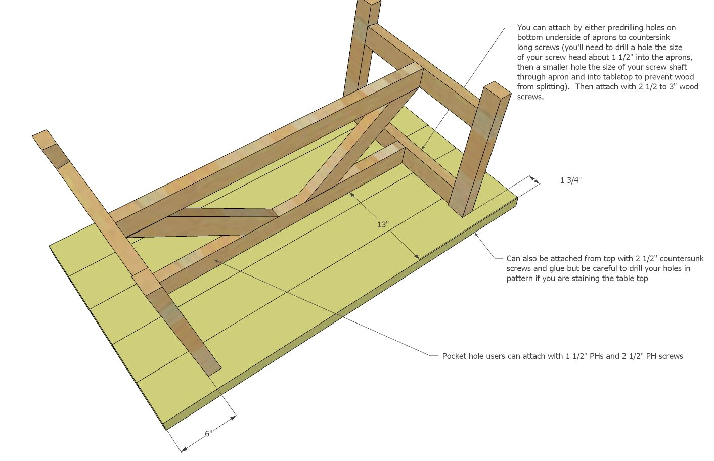 Ana White | Truss Coffee Table - DIY Projects | Coffee ...