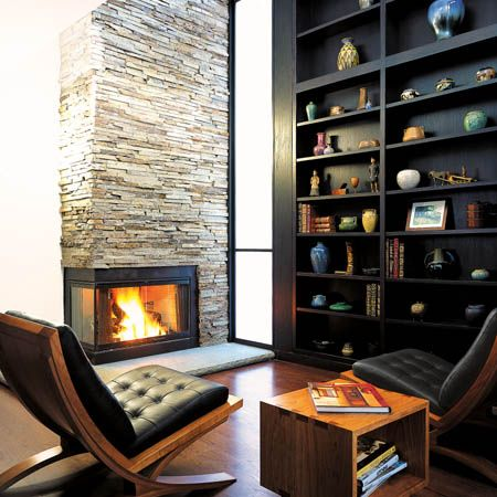Personal Luxury Home Library With Ultra Modern Interior Design