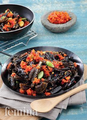 Sambal Belut Petai Resep Makanan Asia Resep Masakan