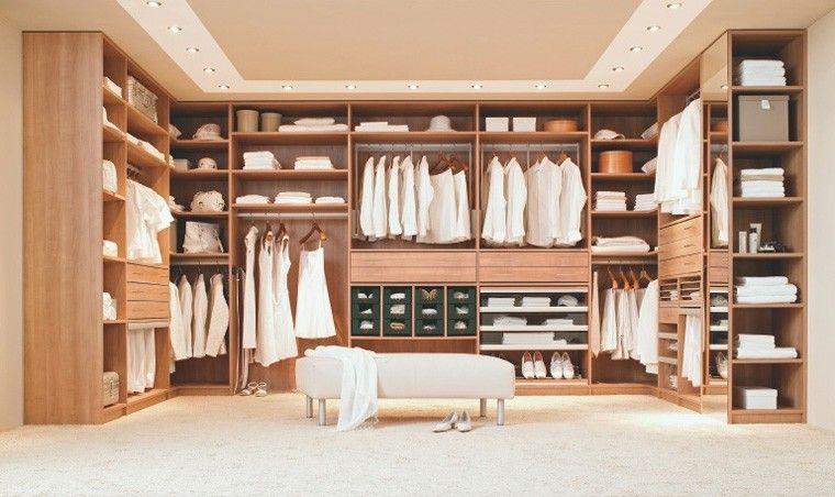 Vestidores grandes y armarios empotrados 50 ideas vestidores habitacion vestidor armario - Armarios de habitacion ...