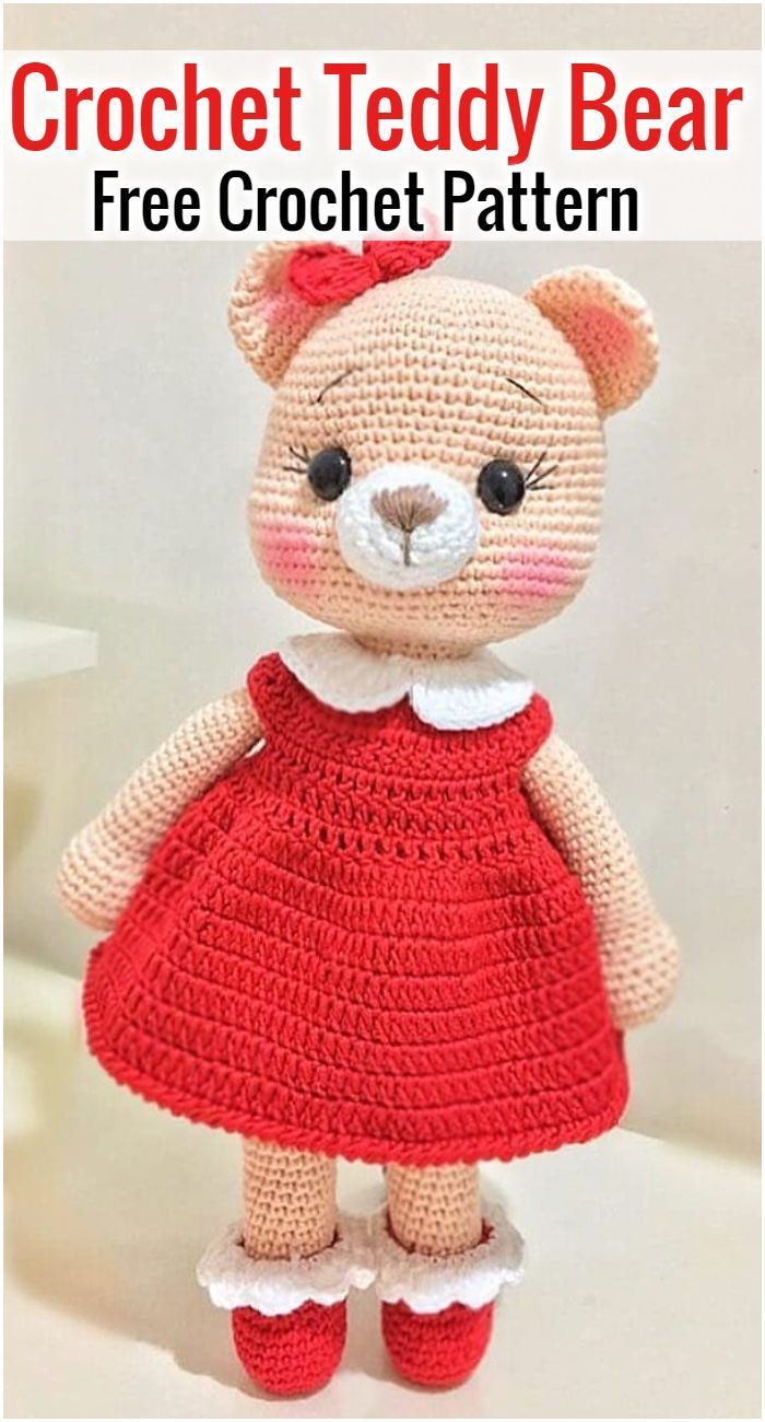 Free Crochet Bear Patterns – Amigurumi Patterns #crochetbear Free Crochet Bear Patterns,Bear Amigurumi Crochet Pattern-I have rounded up a huge list of free crochet teddy bear patterns for you to get inspired by these cute and soft teddy bears. You could absolutely make them with your own crochet hooks.#freecrochetpatterns #crochetamigurumi #crochetbear